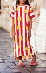 5d775132580 Home   New Arrivals   Kids   Sun Stripe T-shirt Dress