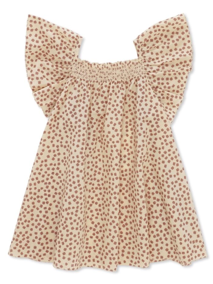 Konges Sløjd Pilou Strap Dress Buttercup-rosa 1