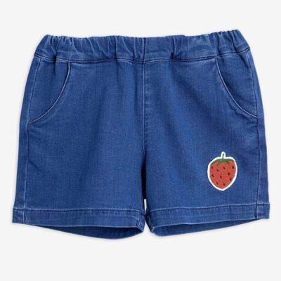 Strawberry Denim Shorts