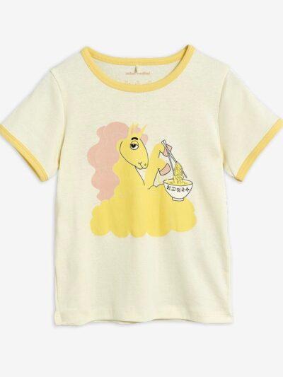 Unicorn Noodles Tee Yellow