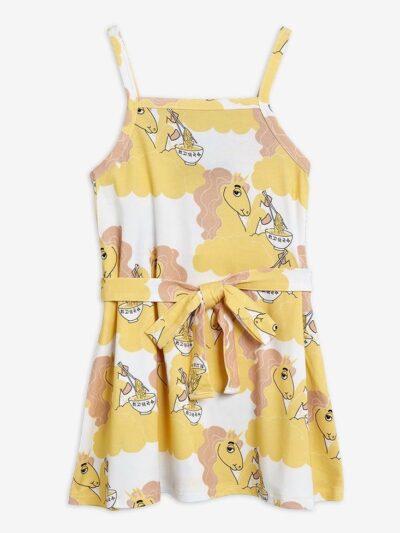 Unicorn Tank Dress Yellow