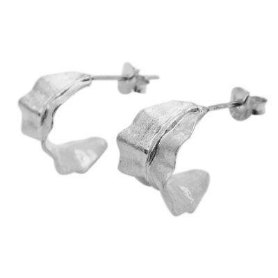 WOS Blad Earrings Silver 1