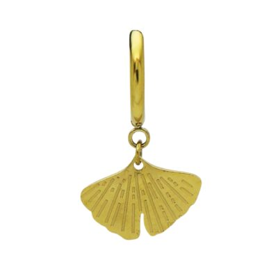 WOS Ginko Single Earring Gold 1