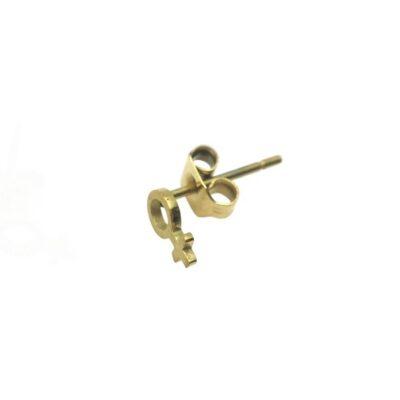 WOS Gudrun Mini Earrings Gold 1
