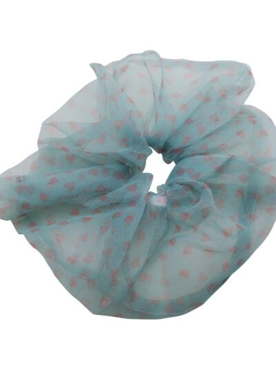 WOS Love Scrunchie Blue 1