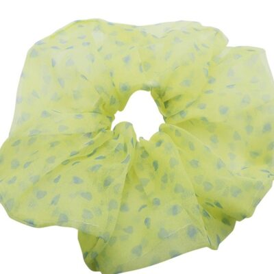 WOS Love Scrunchie Yellow 1