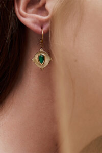 WOS Nancy Single Earring Gold 2
