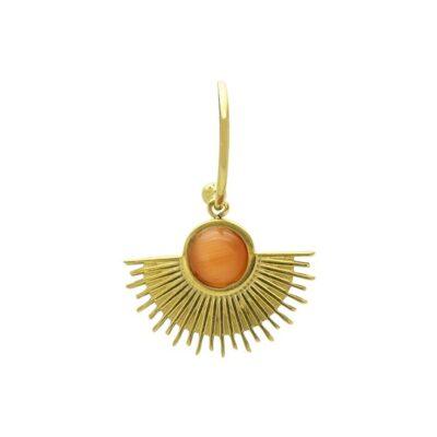 WOS Nanon Single Earring Gold 1