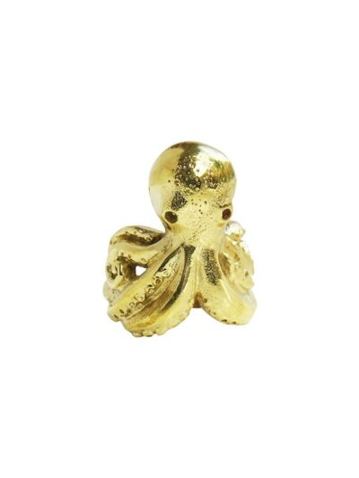 WOS Octopus RIng Brass 1
