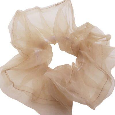 WOS Scrunchie Off pink 1