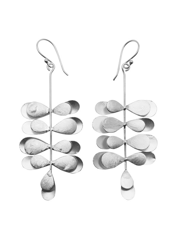 WOS Stina Earrings Silver 1