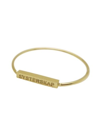 WOS Systerskap Ring Gold 1