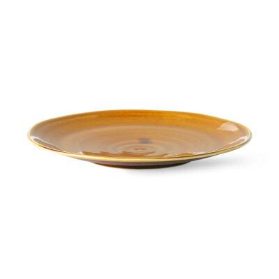 Japanese Dinner Plate Brown 3