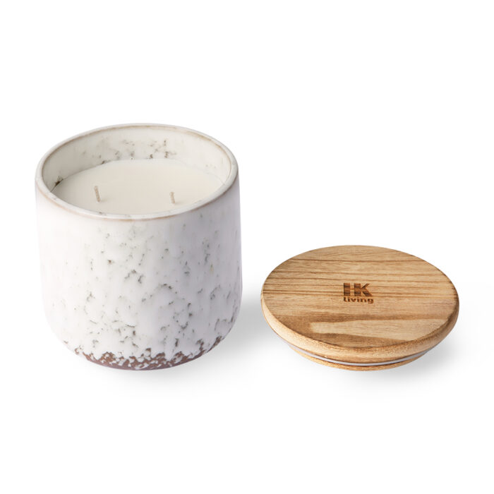 HK living Ceramic Soy Candle Northern soul